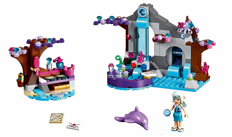 Spa Secreto de Naida de LEGO Elves