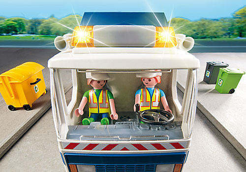 camion reciclaje Playmobil