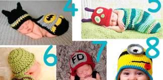disfraces con ganchillo para bebés