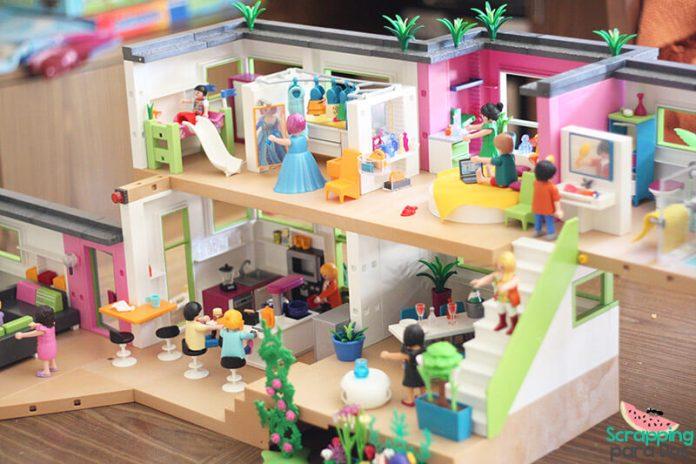Mansi n moderna de lujo playmobil for Casa moderna de playmobil 123