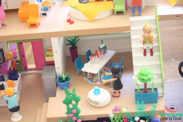 Mansi n moderna de lujo playmobil for Casa moderna playmobil