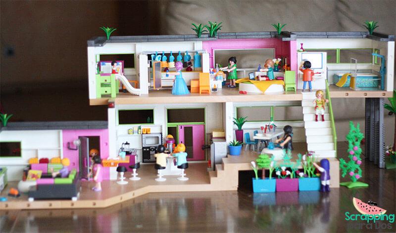 Mansión Moderna De Lujo Playmobil