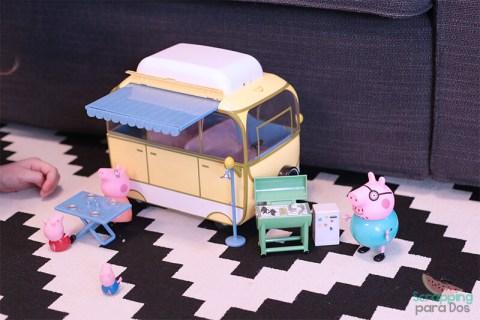 Caravana de Peppa Pig amarilla