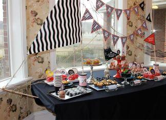 Ideas para una fiesta de cumpleaños pirata