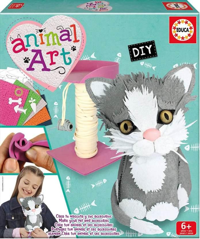 animal art gatito
