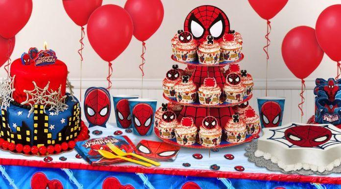 cumpleaños de Spiderman paso a paso