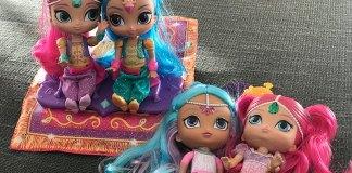 juguetes de Shimmer and Shine