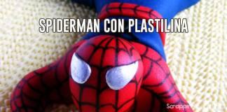 spiderman con plastilina