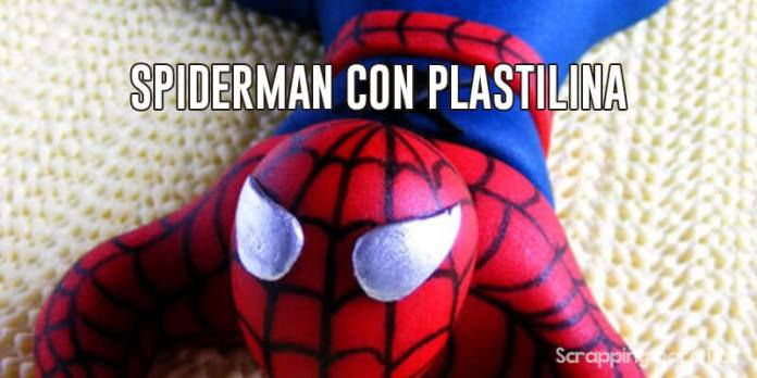 spiderman con plastilina