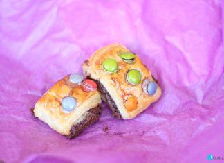 Mini Napolitanas de Chocolate con Lacasitos