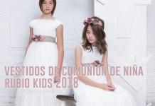 Vestidos de Comunión de Niña Rubio Kids