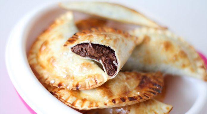 Empanadillas Rellenas de Chocolate - Receta Fácil
