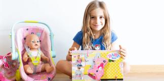 Novedades en accesorios BABY born®: Silla de paseo y canguro