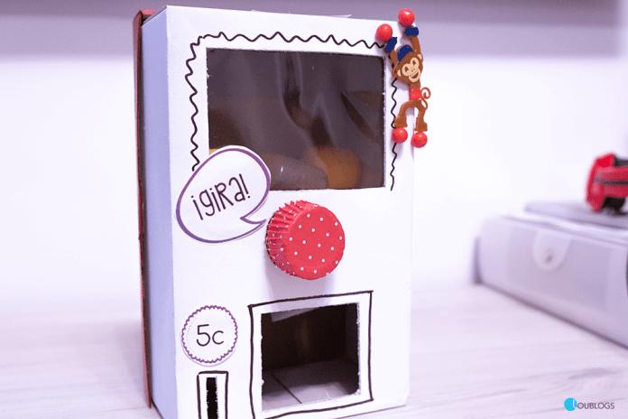 Como hacer una máquina expendedora de regalos