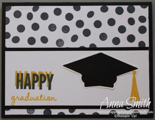 Stampin' Up! Celebrate Today Graduation Card