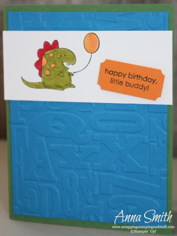 Little Buddy Birthday Little Boy Card