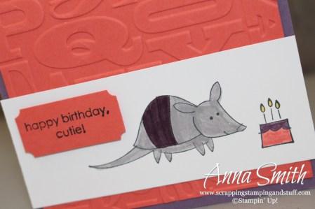 Little Buddy Birthday Little Girl Card