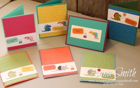 Kids Cards using Little Buddy Stamp Set