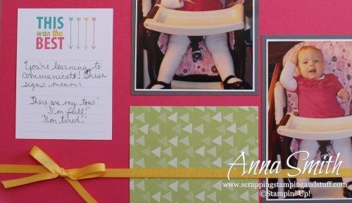 Project Life Everyday Adventure Scrapbook Page