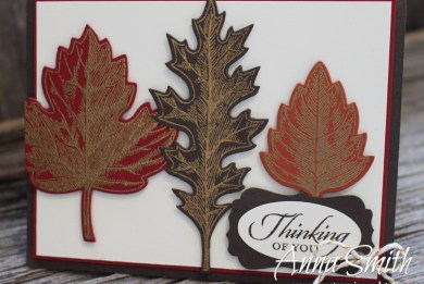 Stampin' Up! Vintage Leaves