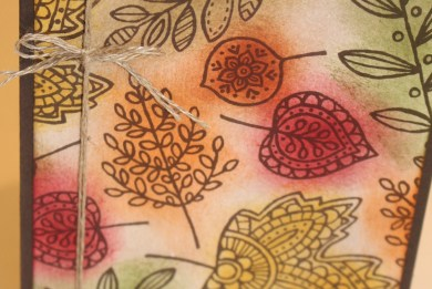 Lighthearted Leaves Fall Card with video tutorial