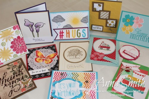 Scrapping Stamping and Stuff- Handmade cards
