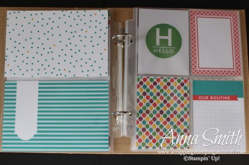 ICS Blog Hop - Girl Gift Idea - Project Life album featuring This Is the Life Card Collection and Accessory Kit