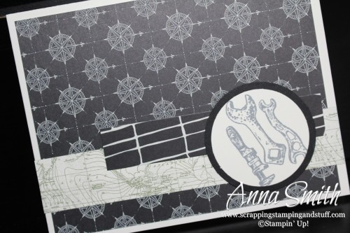 Guy Greetings and Going Global collide in this masculine wrench card