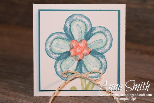 Balloon Builders Flower Card
