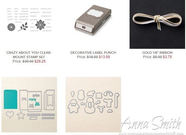Stampin' Up! Weekly Deals