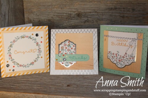 The Cottage Greetings Card Kit has big, beautiful cards that are quick and easy to put together!