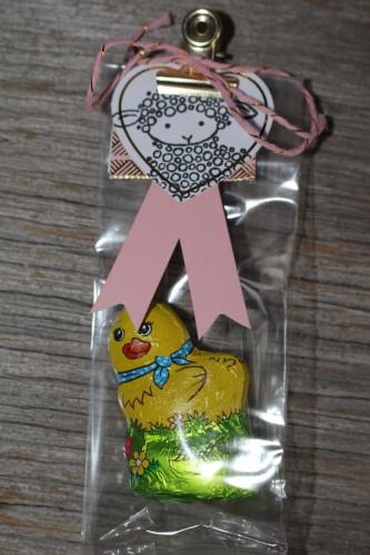 Easter Lamb Treat Bag