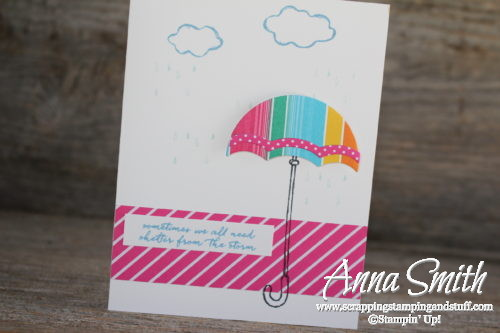 Umbrealla Weather Together 'Shelter From the Storm' Card