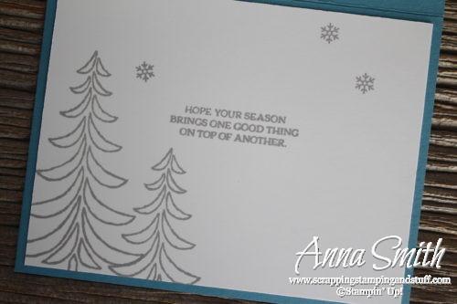 Santa's Sleigh Christmas card using masking technique