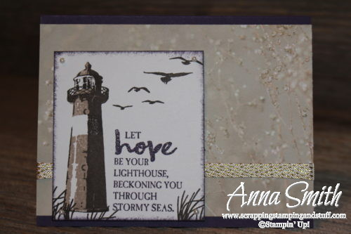 Stampin' Up! High Tide Thinking Of You Card
