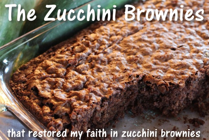 The absolute best zucchini brownies - these restored my faith in zucchini brownies!
