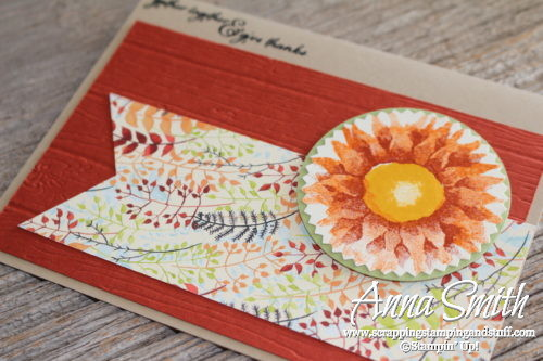 Quick and easy Stampin' Up! fall card idea with the Painted Harvest stamp set
