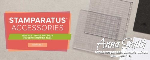 Need more magnets or an extra foam pad? Stamparatus Accessories are Now Available!