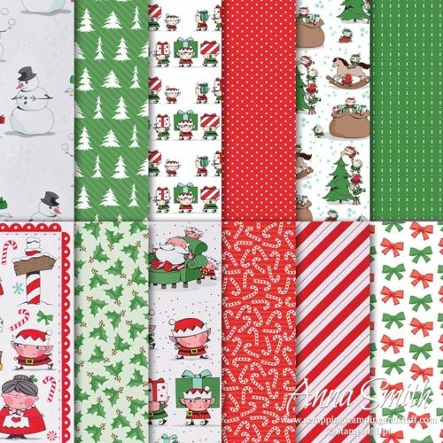 Stampin' Up! Santa's Workshop Specialty Designer Series Paper