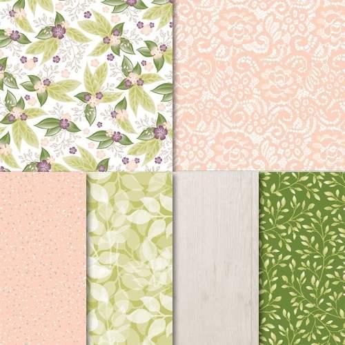 Stampin' Up! Floral Romance Designer Series Paper