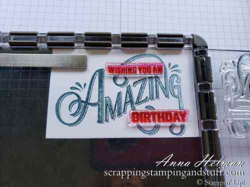 Stampin' Up! Stamparatus Stamping Platform