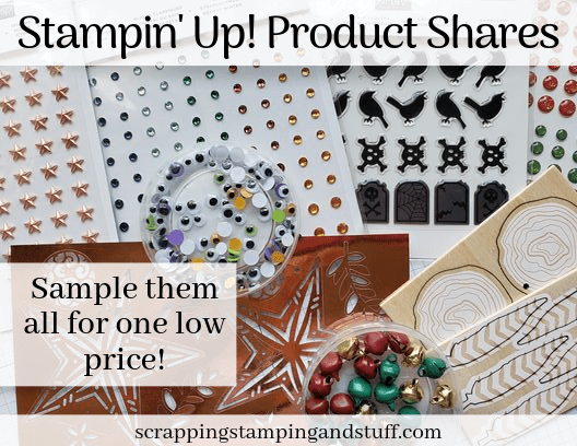 Stampin Up Product Shares! Embellishment Share 2019 Holiday Catalog - Beautiful Holiday Embellishment Assortment For One Low Price!