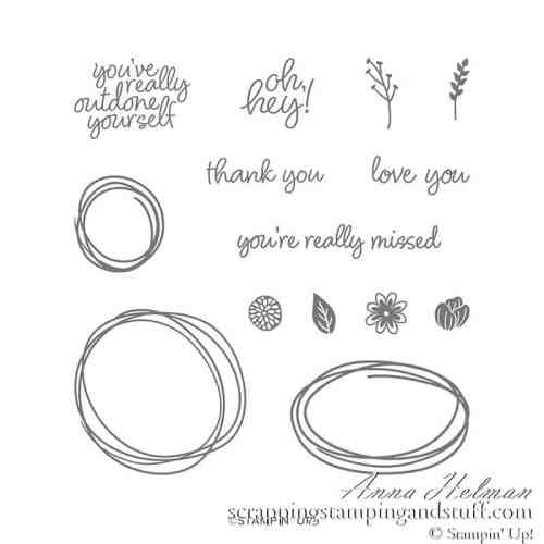 Stampin Up Sweetly Swirled Stamp Set