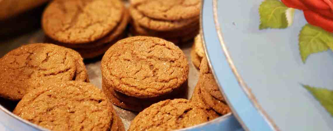 Great Grandma's Old Fashioned Molasses Cookies - The Best Soft and Chewy Cookies To Remind You of Days Gone By