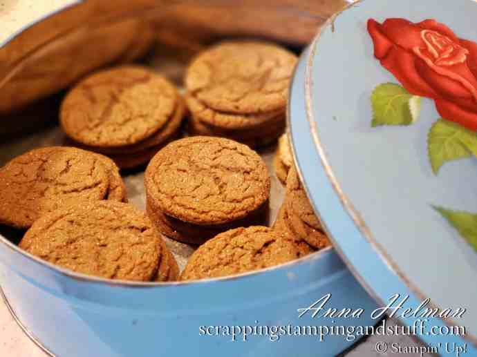Old Fashioned Molasses Cookies