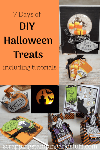 7 Days of DIY Halloween Treats Including Tutorials and Instructions