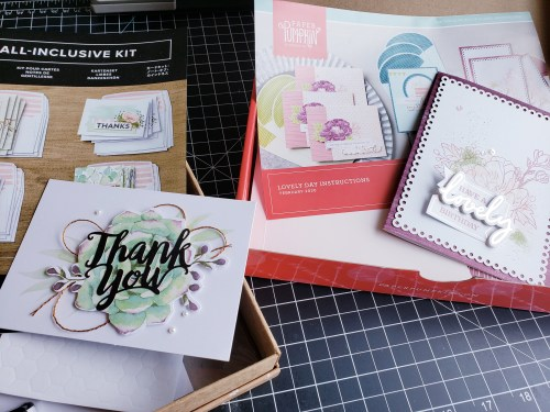 Learn To Make Cards With Card Kits - Perfect for Beginning Cardmakers