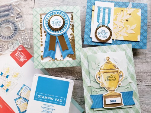 Check out these August 2020 Paper Pumpkin projects and alternative ideas using the World's Greatest craft kit!