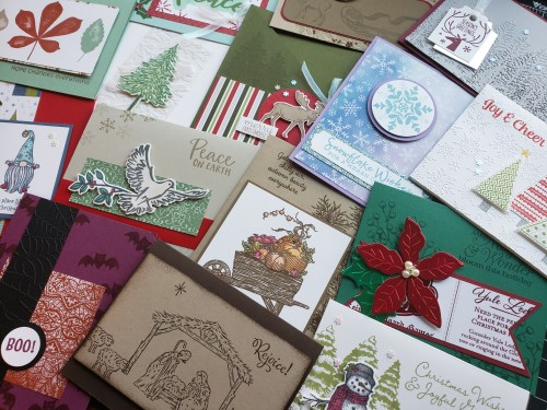 Join in for 2020 Stampin Up Holiday Stamp Camp or purchase the project tutorial PDFs if you can't make it!