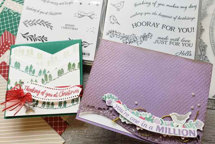 The Stampin Up Quite Curvy Bundle And Curvy Christmas special release are now available for ordering! Take a look at these cute sample projects!